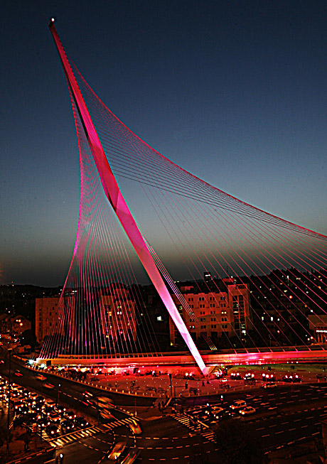 Jerusalem Calatrava Bridge
